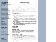 Realtor Role-Play Lesson Plan