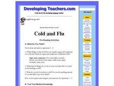 Cold and Flu Lesson Plan