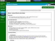 Rivers - Lesson Plan for Use Online Lesson Plan