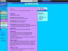 Long Vowel Phoneme - ai  Lesson Plan