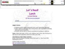 Let's Read Lunch Lesson Plan