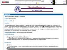 E-mailing the Chamber of Commerce Lesson Plan