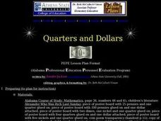 Quarters and Dollars Lesson Plan