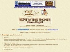 Division One-Digit Lesson Plan