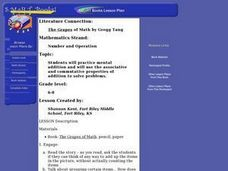 """The Grapes of Math"" by Gregg Tang Lesson Plan"