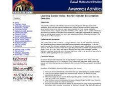 Learning Social Roles: Boys and Girls Lesson Plan