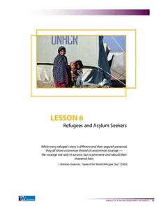 Refugees and Asylum Seekers Lesson Plan
