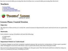 COASTAL EROSION Lesson Plan