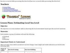 ESTIMATING LOCAL SEA LEVEL Lesson Plan