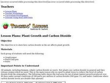 Plant Growth and Carbon Dioxide Lesson Plan