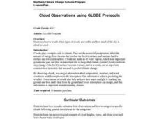 Cloud Observations using GLOBE Protocols Lesson Plan