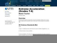 Extreme Acceleration Lesson Plan