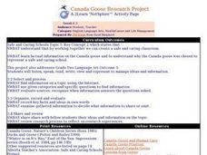 Canada Goose Research Project Lesson Plan