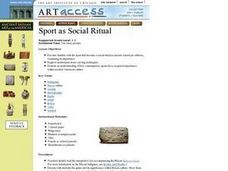 Sport as Social Ritual Lesson Plan