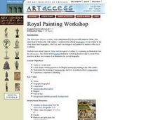 Royal Painting Workshop Lesson Plan
