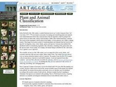 Plant and Animal Classification Lesson Plan