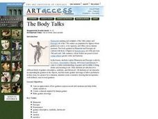 The Body Talks Lesson Plan