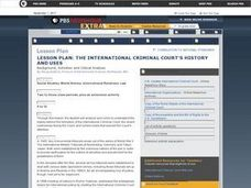 the International Criminal Court's History And Uses Lesson Plan