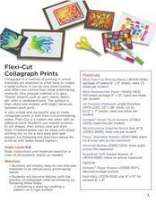 Flexi-Cut Collagraph Printmaking Lesson Plan