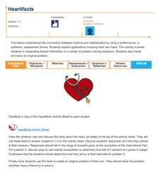 Heartifacts Lesson Plan