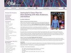 START QUILTING Lesson Plan