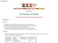 The Seasons of Thanks Lesson Plan