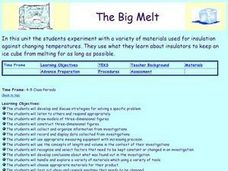 The Big Melt Lesson Plan