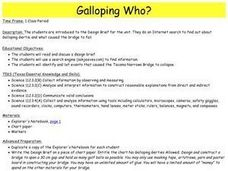 Galloping Who? Lesson Plan