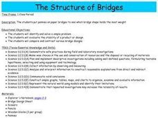 The Structure of Bridges Lesson Plan