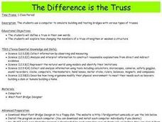 The Difference is the Truss Lesson Plan