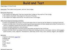 Build and Test Lesson Plan