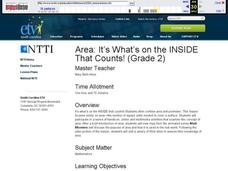 Area: It's What's on the INSIDE That Counts! Lesson Plan