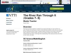 The River Ran Through It Lesson Plan