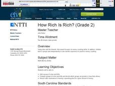 How Rich Is Rich? Lesson Plan