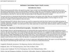 American Civilization/Geography Lesson Plan
