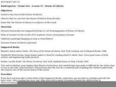 Statue of Liberty Sculpture Lesson Plan