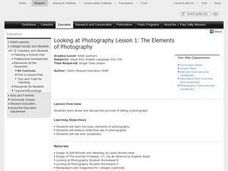 Looking at Photography Lesson 1: The Elements of Photography Lesson Plan