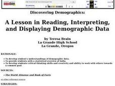 Discovering Demographics Lesson Plan