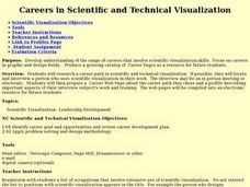 Careers in Scientific and Technical Visualization Lesson Plan