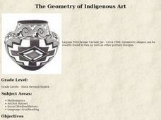 The Geometry of Indigenous Art Lesson Plan