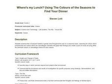 Where's My Lunch?  Using the Colors of the Seasons to Find Your Dinner Lesson Plan