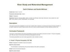 Evergreen - River Study and Watershed Management Lesson Plan