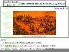 What is Brazil's history? Lesson Plan