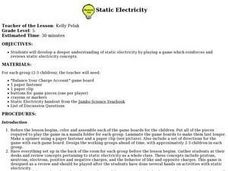 Static Electricity Game Lesson Plan