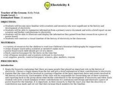 Electricity 4 Lesson Plan