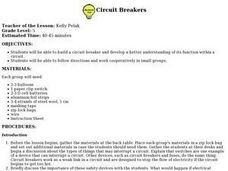 Circuit Breakers Lesson Plan