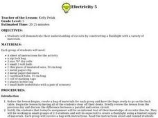Electricity 5 Lesson Plan