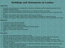 Buildings and Monuments in London Lesson Plan