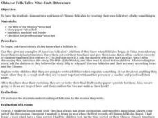 CHINESE FOLK TALES Lesson Plan