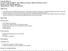 WHERE DO BEARS LIVE? Lesson Plan